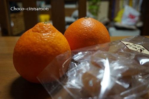 オレンジとニッキ飴.JPG