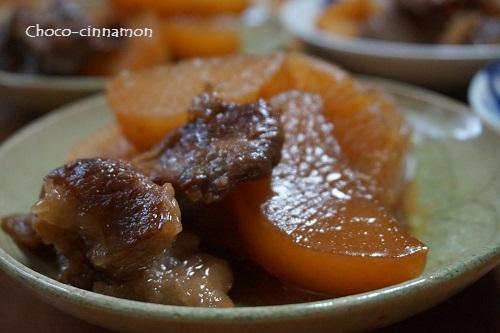 すじ肉と大根の煮物.JPG