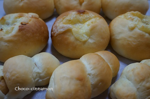 筍パン、ソーセージパン.JPG