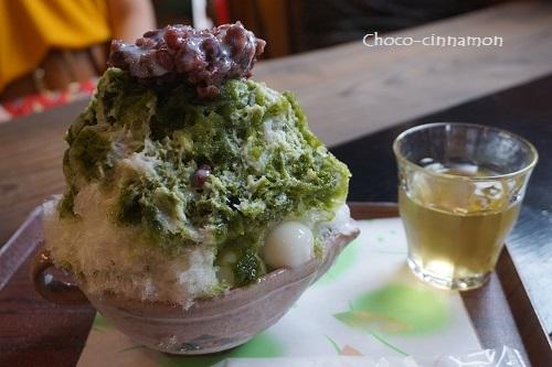 緑茶氷.JPG