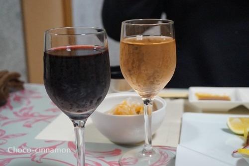 birthdayサービスグラスワイン.JPG